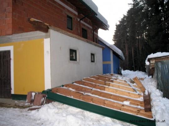 Eingest rzte dachkonstruktion eingest rzte dachkonstruktion for Zugstab druckstab
